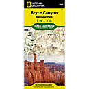 219 Bryce Canyon National Park Trail Map