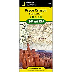 219 Bryce Canyon National Park Trail Map, 2006