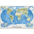 World Physical Wall Map
