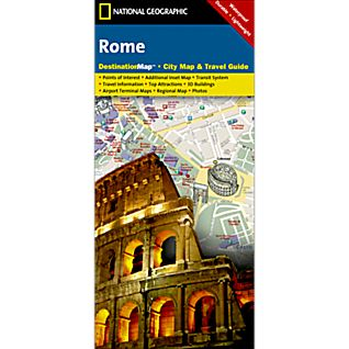 Rome Destination City Map