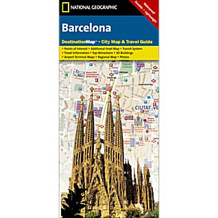 Barcelona Destination City Map