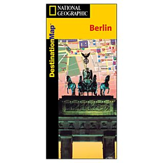 Berlin Destination City Map