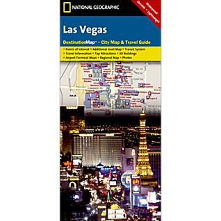 Las Vegas Destination City Map