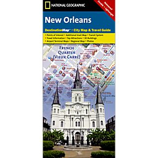 New Orleans Destination City Map