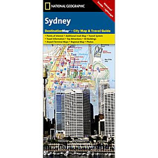 Sydney Destination City Map