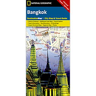 Bangkok Destination City Map