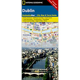 Dublin Destination City Map