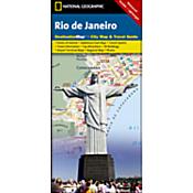 Rio De Janeiro Destination City Map