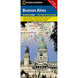Buenos Aires Destination City Map