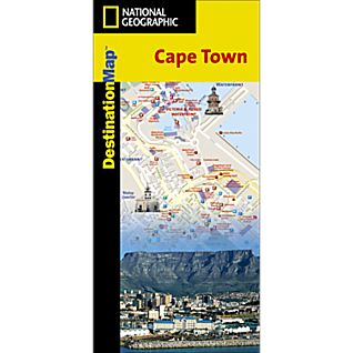Cape Town Destination City Map