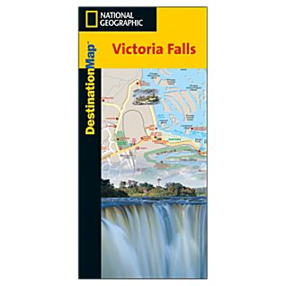 Victoria Falls Destination City Map