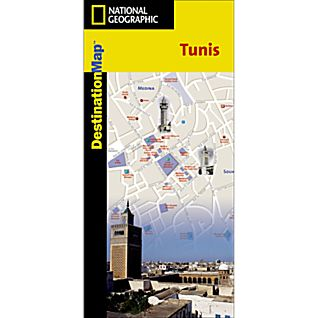 Tunis Destination City Map