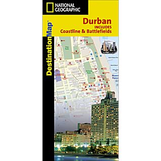 Durban Destination City Map