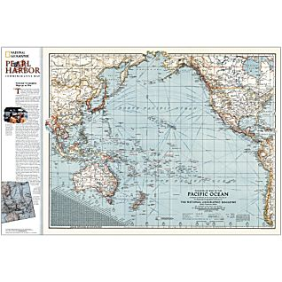 Pearl Harbor Commemorative Map