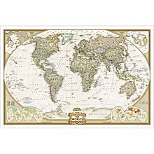 Decorative World Maps for Wall