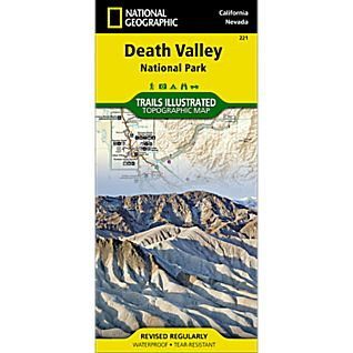 View 221 Death Valley National Park Trail Map image