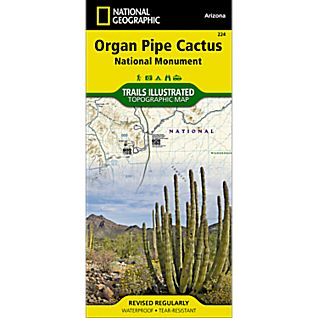 National Geographic Organ Pipe Cactus National Monument Trail Map