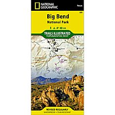 225 Big Bend National Park Trail Map, 2008