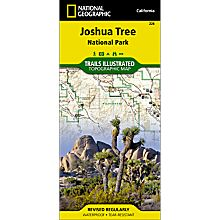 226 Joshua Tree National Park Trail Map, 2005