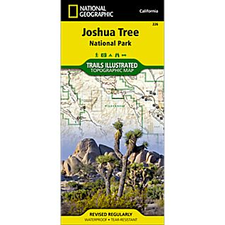 226 Joshua Tree National Park Trail Map
