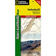 227 Haleakala National Park Trail Map, 2000