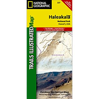 photo: National Geographic Haleakala National Park Map