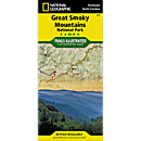 229 Great Smoky Mountains National Park Trail Map