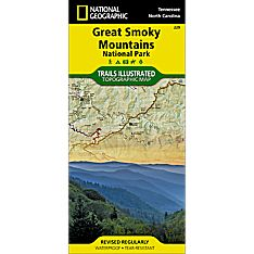 Map of Smoky Mountain National Park Trails