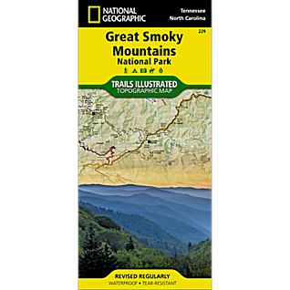 View 229 Great Smoky Mountains National Park Trail Map image