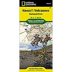 230 Hawaii Volcanoes National Park Trail Map