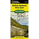 233 Buffalo National River - East Trail Map