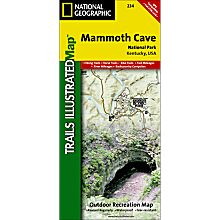 234 Mammoth Cave National Park Trail Hiking Map
