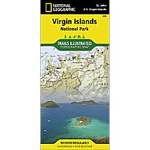 236 Virgin Islands National Park Trail Map, 2005