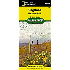 237 Saguaro National Park Trail Map, 2008