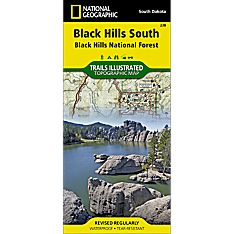 238 Black Hills National Forest - Southeast Trail Map, 1998