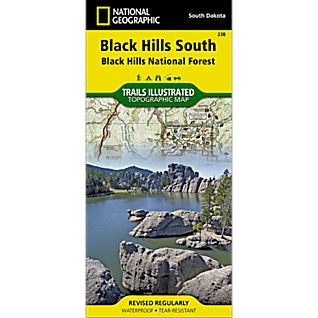 238 Black Hills National Forest - Southeast Trail Map