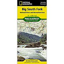 241 Big South Fork National Recreation Area Trail Map, 2007