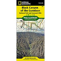 245 Black Canyon of the Gunnison Trail Map, 2000
