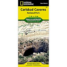 247 Carlsbad Caverns National Park Trail Map, 2007