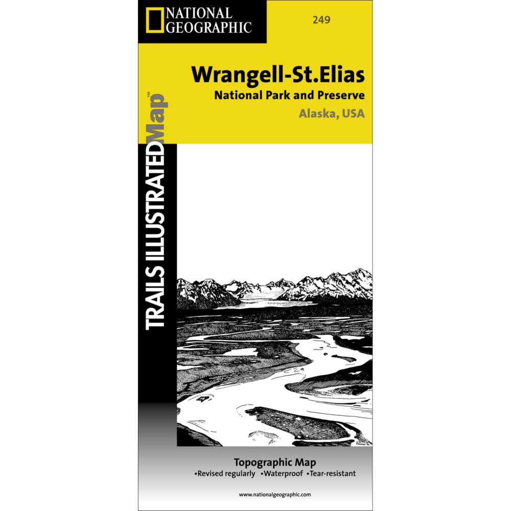 photo: National Geographic Wrangell-St. Elias National Park & Preserve Map
