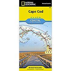 250 Cape Cod National Seashore Trail Map, 2001