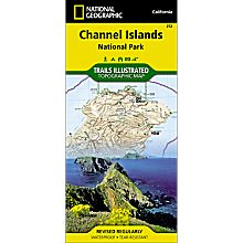 252 Channel Islands National Park Trail Map, 2006