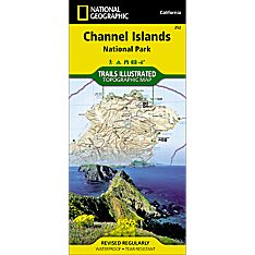 252 Channel Islands National Park Trail Map