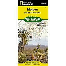 256 Mojave National Preserve Trail Map, 2007