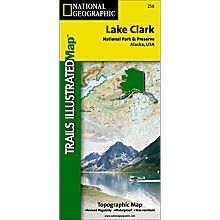 258 Lake Clark National Park and Preserve Trail Map, 2001