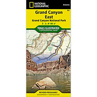 photo: National Geographic Grand Canyon East Trail Map