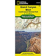 263 Grand Canyon West Trail Map, 2009