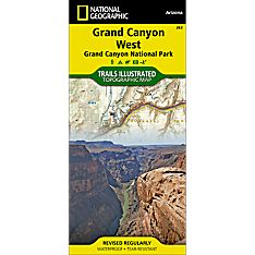 Grand Canyon Hiking Trails Map