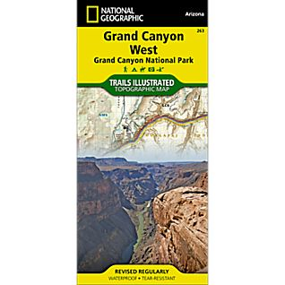 263 Grand Canyon West Trail Map