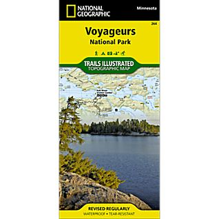 National Geographic Voyageurs National Park Map